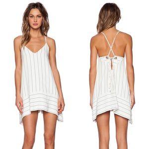 Bec & Bridge Sunseeker Pinstripe Swing Dress US 2